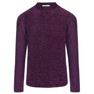 Glitter Long Sleeve Top - Purple