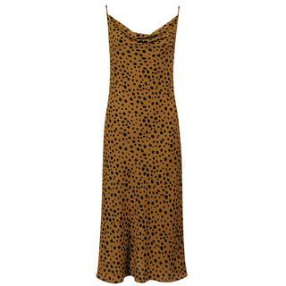 Bruine slipdress cheetah