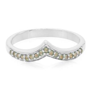 Zilveren ring met alexandrieten (Molloy)