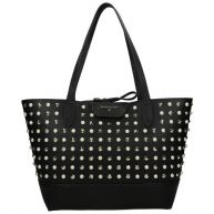 Patrizia Pepe Reversible Pearls shopper L rock black
