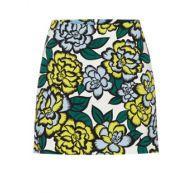 Warehouse Tailored A-lijn rok met bloemdessin