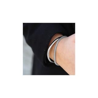 Zilveren armband popcorn 5mm