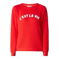Whistles C'est La Vie sweater met tekstapplicatie