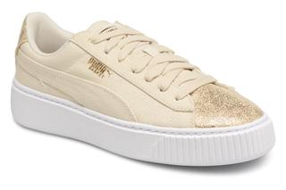 Sneakers Basket Platform Canvas Wn's by
