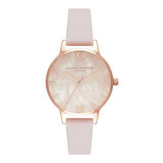 Horloge. Rozenkwarts. Rose goud. Roze.