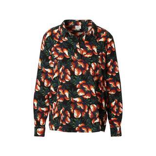 gebloemde blouse (dames)