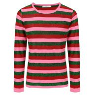 Striped Glitter Longsleeve - Multicolor
