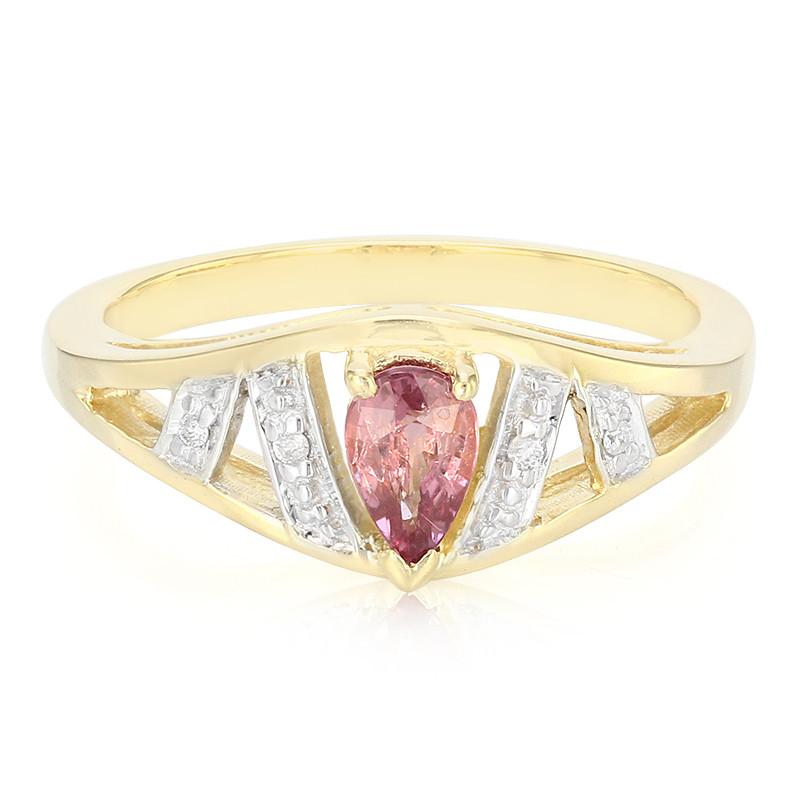 Nicekicks Goedkope Online Juwelo Gouden ring met een Onverhitte Padparadscha Saffier (Molloy) Verkoop 100% Authentiek Outlet Nieuwste Met Creditcard jFIBt6v