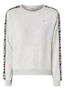 Tivka sweater met logotape
