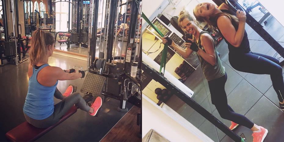 Gym fotos Daisy nike