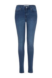 Skinny jeans met stretchstof