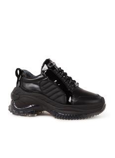 Chainy sneaker van leer