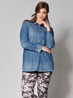 Spijkerblouse Blauw