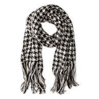 C&a Sjaal Zachte, gebreide kwaliteit wit/zwart