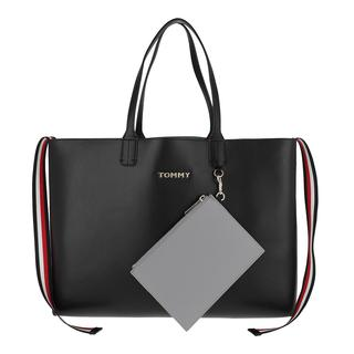 Tote - Iconic Tommy Tote Solid Black in zwart voor dames