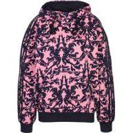 adidas Aop W hoodie roze blauw