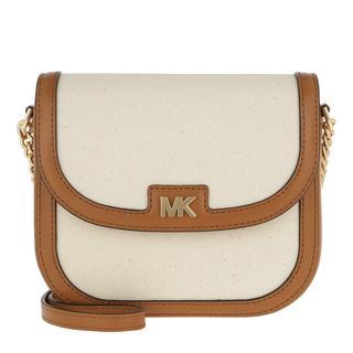 Tasche - Half Dome Crossbody Bag Natural/Acorn in beige voor dames