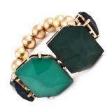 Green Gem Stone Bracelet My Jewellery