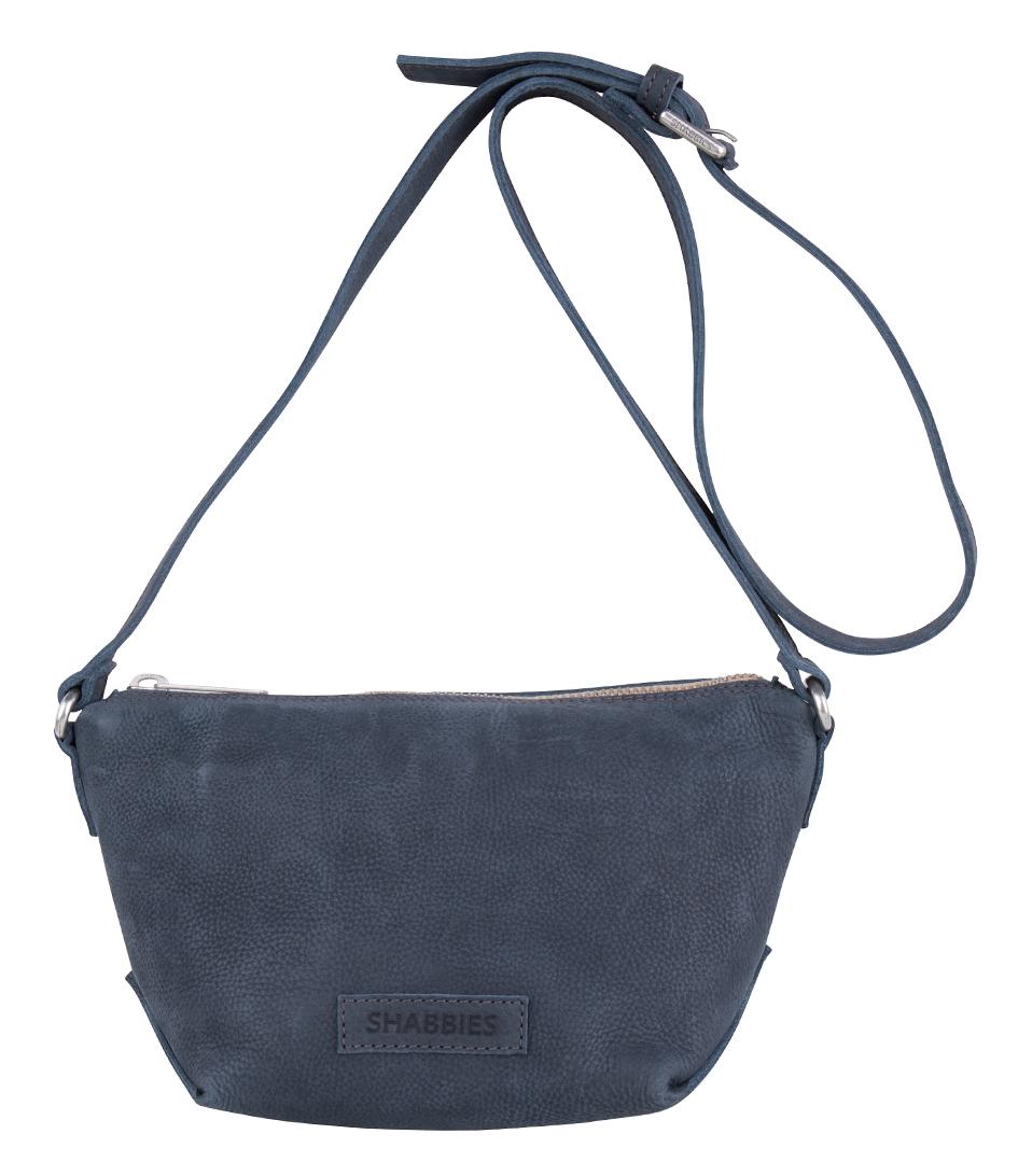Shabbies Handtassen Crossbody Small Bag Waxed Grain Blauw Goedkope Koop Outlet Store GfXPKPFri