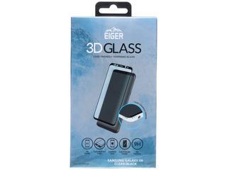 Edge to Edge Glass Screenprotector voor Samsung Galaxy S9 - Zwart