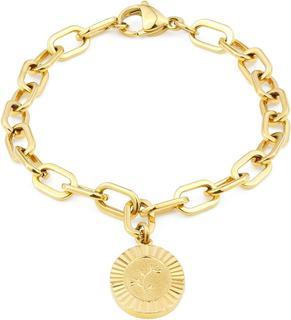 Daisy Bloom Girl Bloom Goudkleurige Armband (Lengte: 16.50-19.50 cm) - Goud