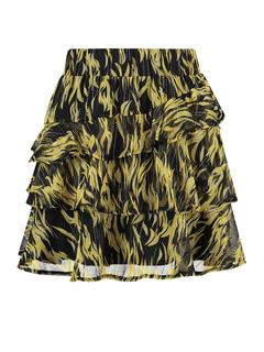 Rihanna rok geel/zwart