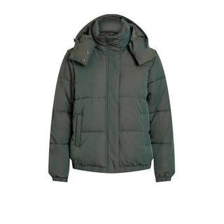 winterjas groen Gewatteerde jas (Dames) - Dames