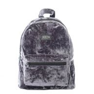 HXTN Supply One Mini OG Backpack Crushed Velvet Moondust grey