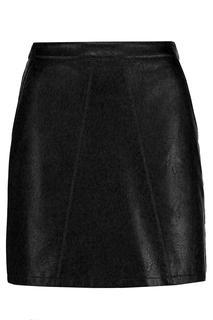 Dames A-lijn Rok Rix Zwart