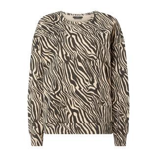 Sweatshirt met zebramotief