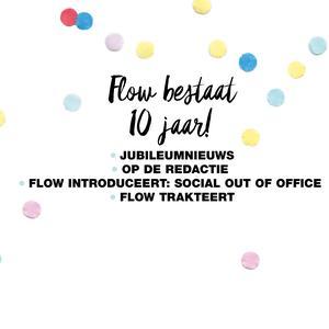 Flow 10-jarig jubileum
