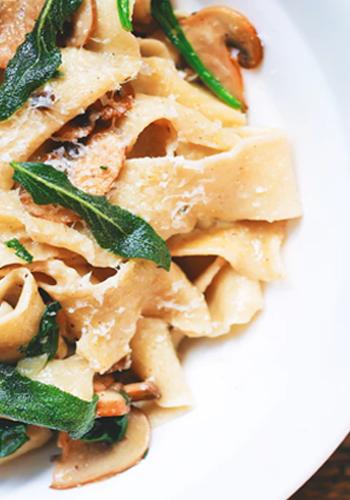 overheerlijke pasta