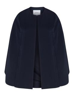 Cape with slits