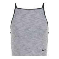 Nike Performance POWER TANK STUDIO Sportshirt black heather/black