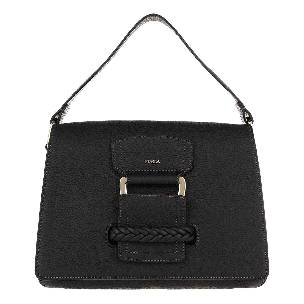 Furla Schoudertassen - Rialto S Crossbody Bag Onyx in zwart voor dames Verkoop Online Winkel 1zLxRDQn