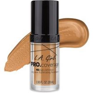 L. A. Girl Pro Coverage Illuminating Foundation - Nude Beige