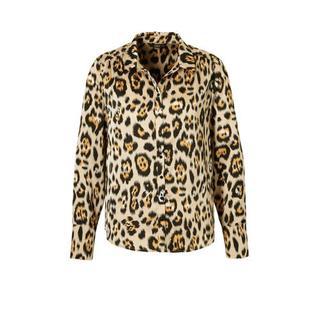 blouse met panter print