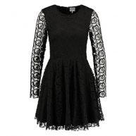 Lace dress - Black