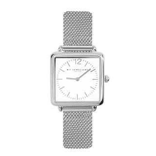 Vierkant horloge mesh