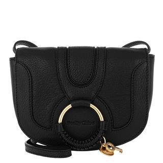 Cross Body Bags - Hana Mini Crossbody Bag Smooth Black in zwart voor dames - Gr. Mini