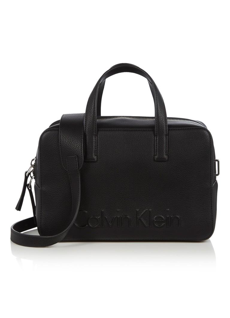 Calvin Klein Edge Duffle handtas met logo Nieuwste Online Te Koop populair Outlet Grote Verkoop F9e6uGZ4K