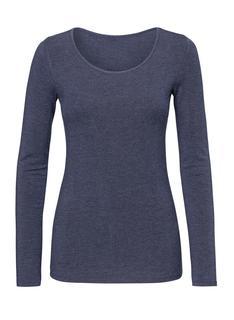 Dames Thermo T-shirt Blauw (blauw)