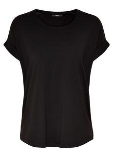 ONLMOSTER SS O-NECK TOP T-Shirt Korte mouw black solid 15106662