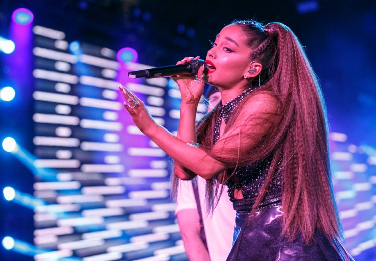 Ariana Grande vindt optreden een hel