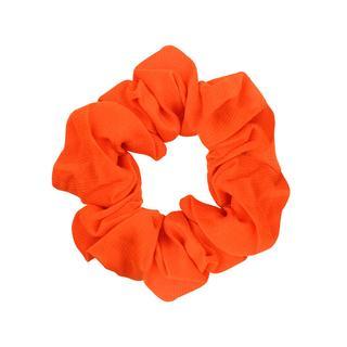 Oranje scrunchie