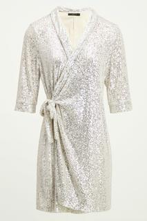 Blazer jurk met pailletten