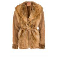 Manila Grace - Faux fur jas Montone | camel