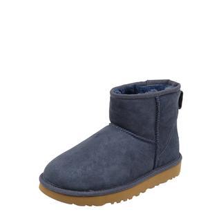 Leren boots met lamswollen voering