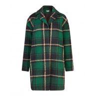 Dames wool blend check jas