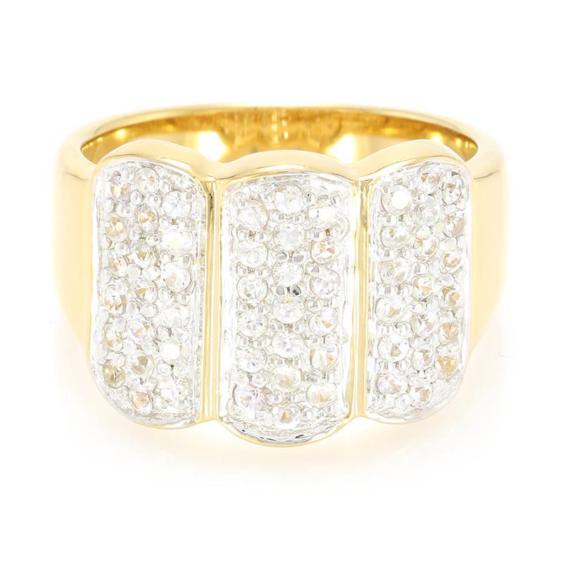 Juwelo Zilveren ring met witte saffieren (Lance Fischer) Verkoop Shop Voor Footlocker Foto's Goedkope Prijs Comfortabele Goedkope Prijs Kopen Goedkope Modieuze Verkoop Comfortabele UnQSzDuAKv